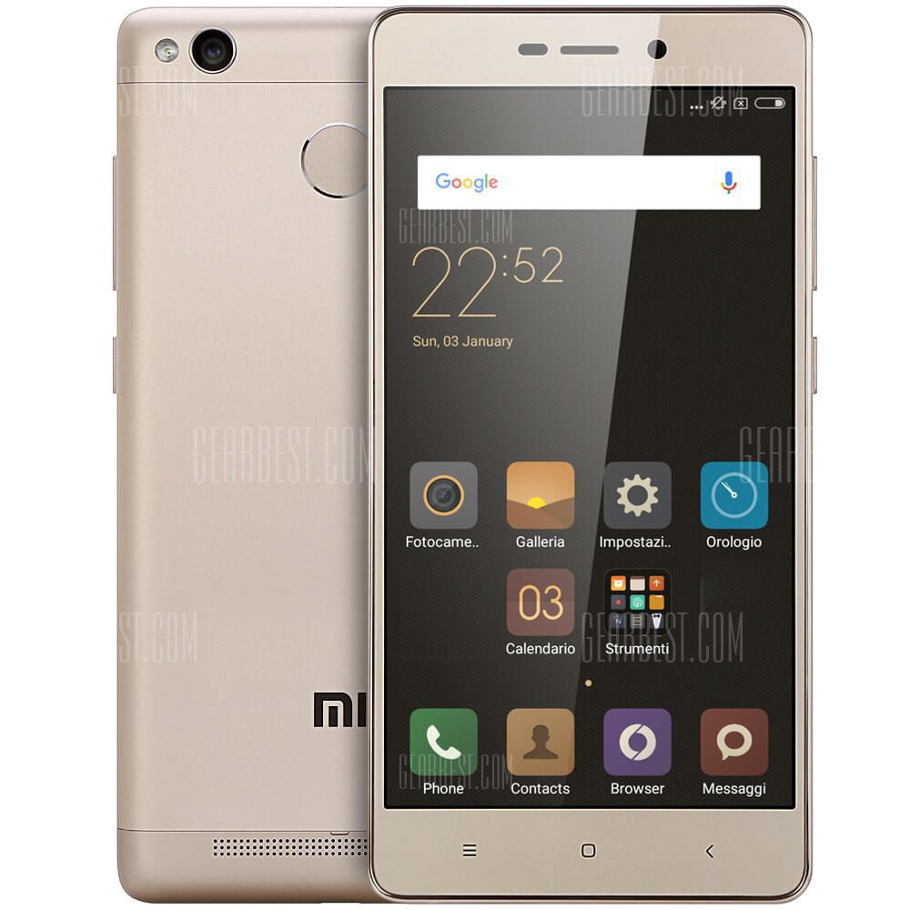 Xiaomi Redmi 3S 4G Smartphone Review
