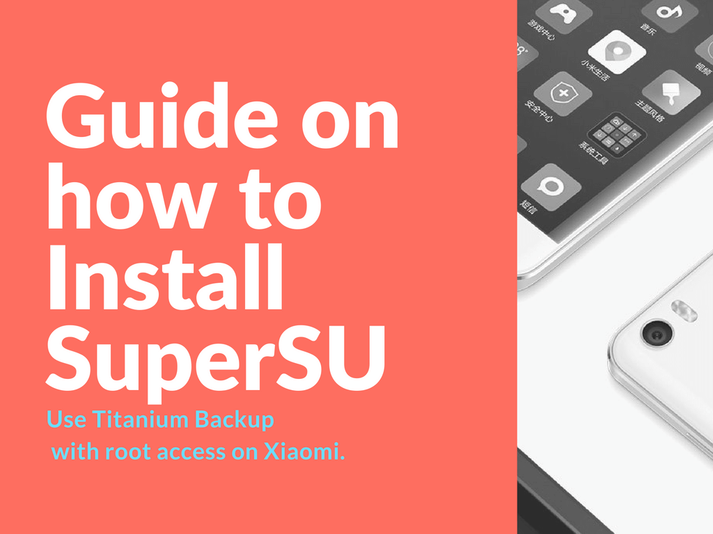 install SuperSU and use Titanium Backup
