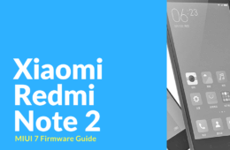 xiaomi redmi note 2 firmware