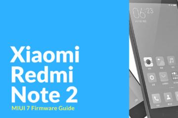 xiaomi redmi note 2 firmware