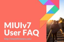 MIUIv7 User FAQ