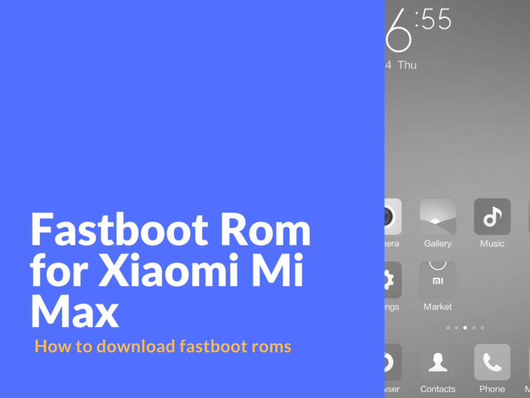 download fastboot roms from the official MIUI website