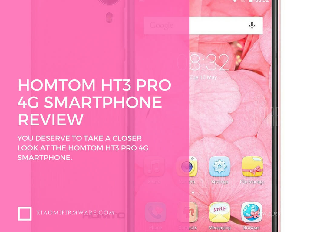 HOMTOM HT3 Pro 4G Smartphone Review