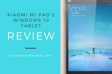 Xiaomi Mi Pad 2 Windows 10 Tablet Review