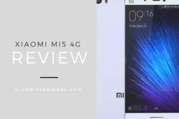 Xiaomi Mi5 4G Review