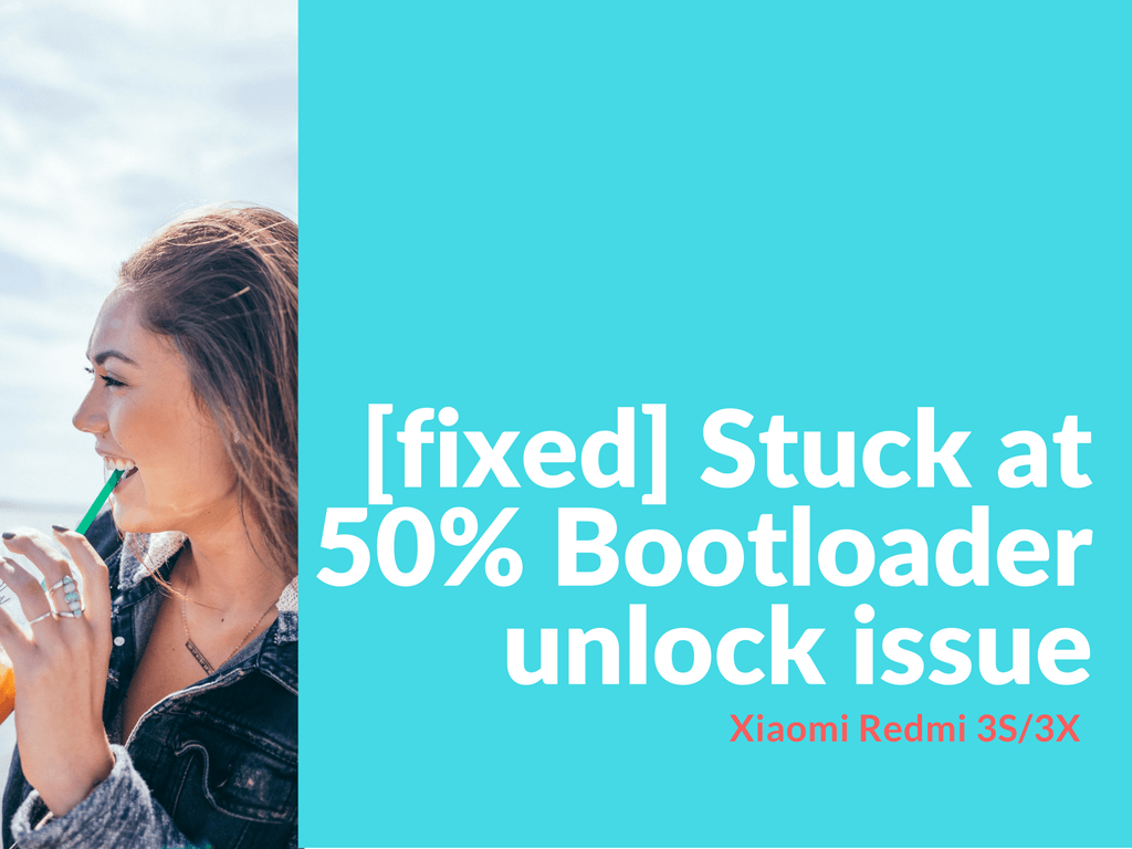 Bootloader unlock issue