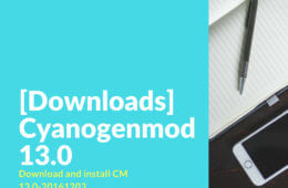 Download cm-13.0-20161203