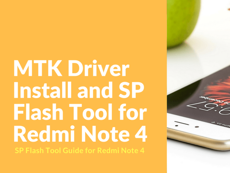 SP_Flash_Tool Redmi Note 4