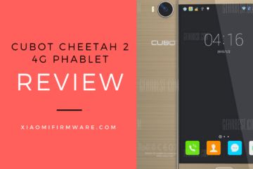 Cubot CHEETAH 2 4G Phablet Review