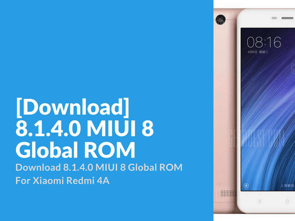 Download 8.1.4.0 MIUI 8 Global ROM