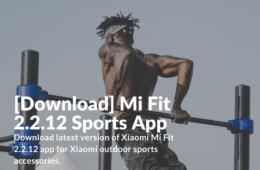 Download Mi Fit 2.2.12