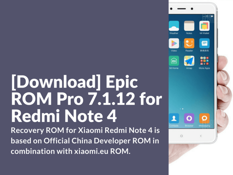 Download Epic ROM Pro 7.1.12
