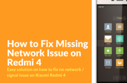 How to Fix No Network Issue on Redmi 4