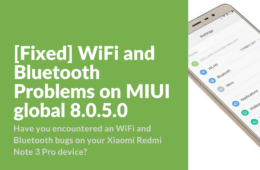 WiFi Bluetooth Now Working on Redmi Note 3 Pro