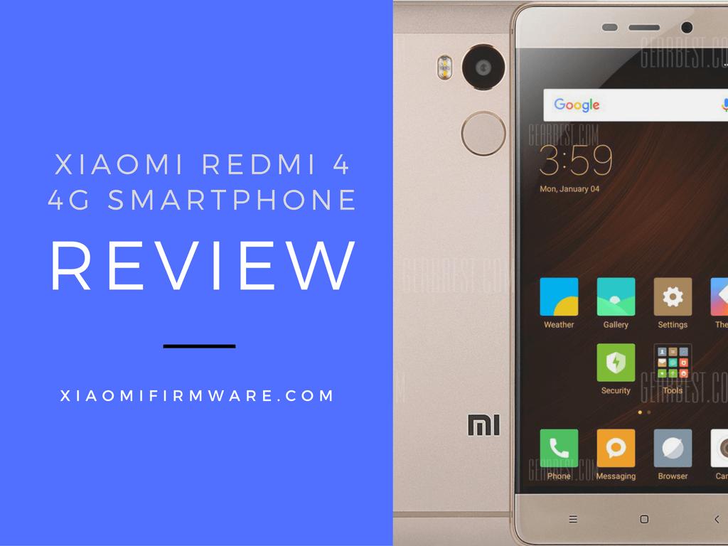 Xiaomi Redmi 4 4g Smartphone Review Xiaomi Firmware
