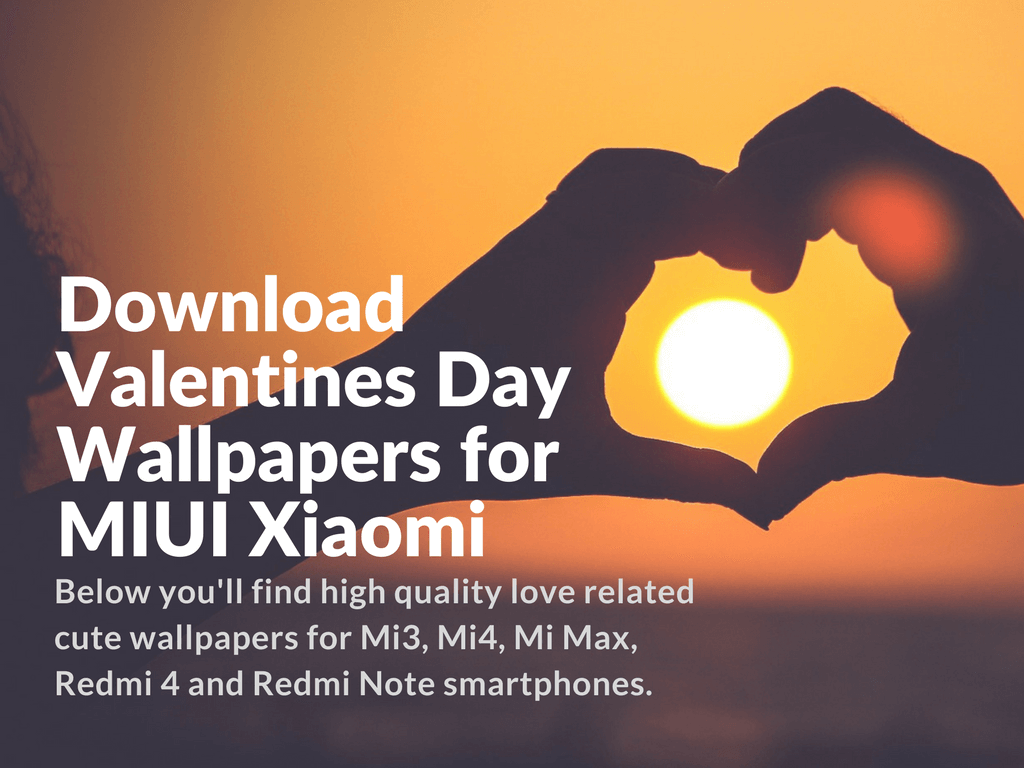 Valentines Day Wallpaper Collection MIUI