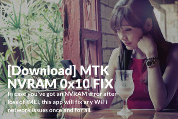 Download MTK NVRAM 0x10 FIX