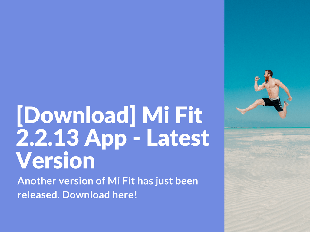 Download Mi Fit 2 2 13 App Latest Version Xiaomi