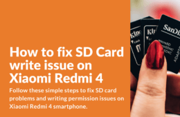 Fixing SD Card Permission Issue on Redmi 4