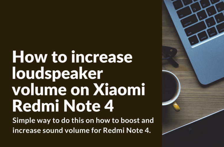 How to increase loudspeaker volume on Xiaomi device