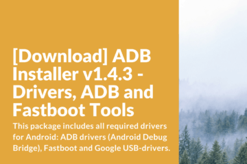 Download ADB Installer v1.4.3