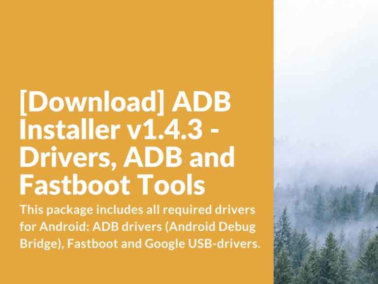 Download ADB Installer v1.4.3