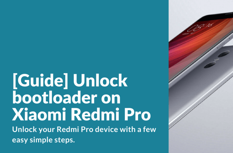 Unlock bootloader on Redmi Pro