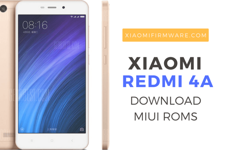 Download Redmi 4A MIUI ROM