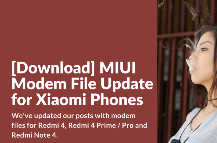Download] MIUI Modem File Update for Xiaomi Phones - Xiaomi Firmware