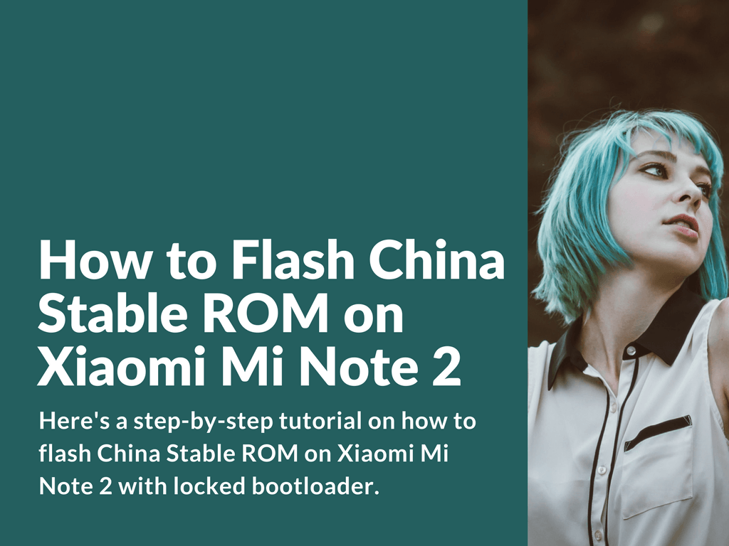 Flash locked bootloader Mi Note 2