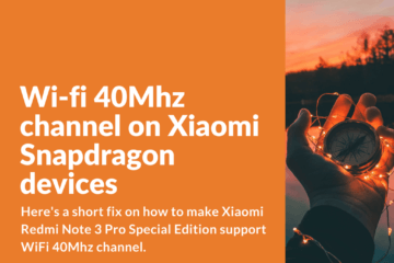 Fix to support WiFi 40Mhz channel on Xiaomi devices powered by Snapdragon