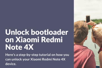 Unlocking bootloader on Redmi Note 4X the right way