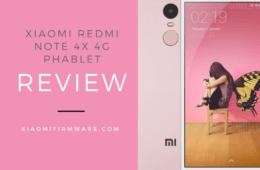 Xiaomi Redmi Note 4X 4G Phablet Review