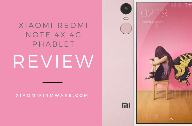 Xiaomi Redmi Note 4X 4G Phablet Review
