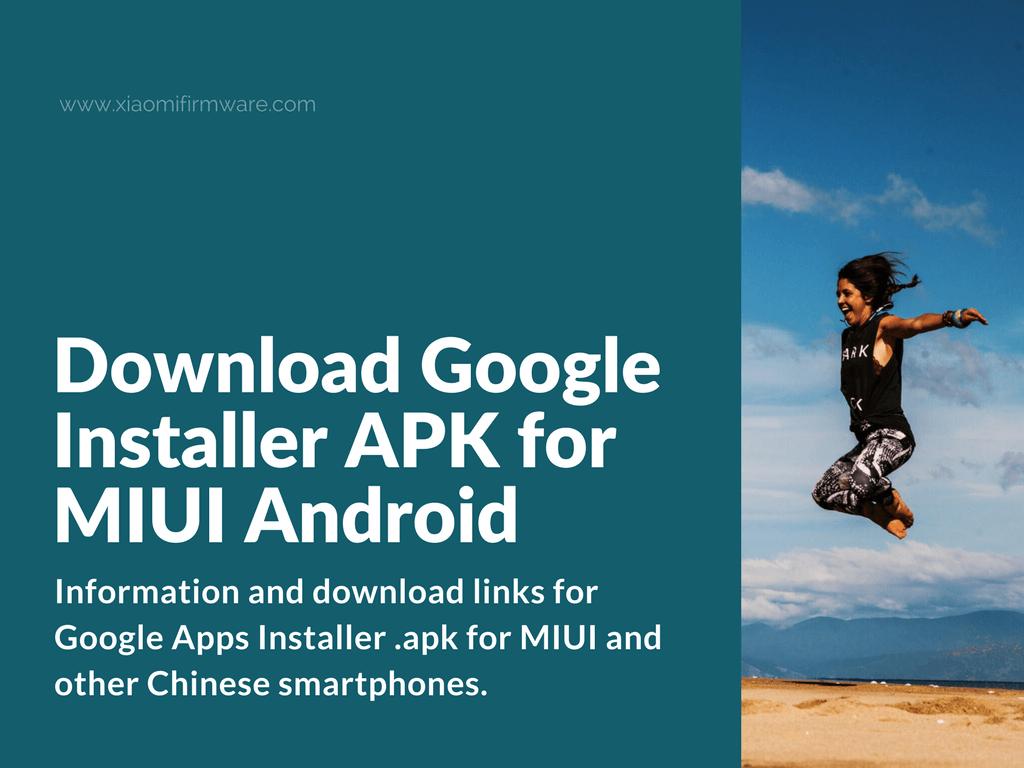 Google Installer for MIUI phones