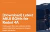 MIUI Roms for Xiaomi Redmi 4A