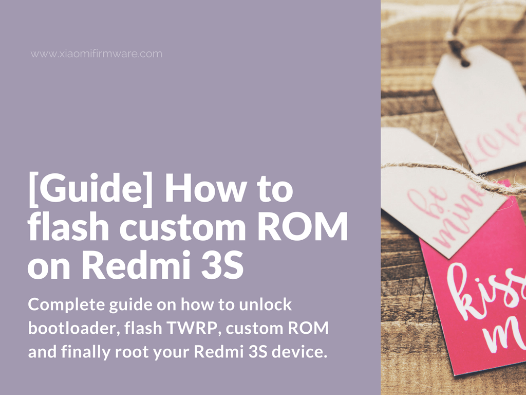Flash and Root Redmi 3S