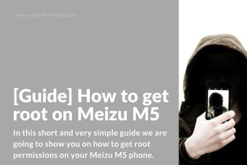 Root Meizu M5 Phone