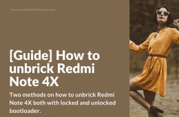 Unbrick fix bootloop Redmi Note 4X