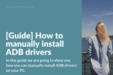 How to manually install ADB drivers