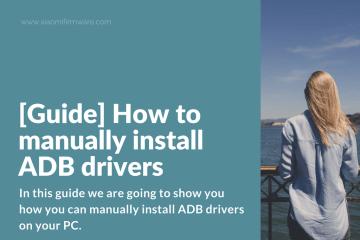 How to manually install ADB drivers