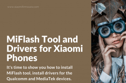 Install drivers for Qualcomm and MediaTek Xiaomi Phone