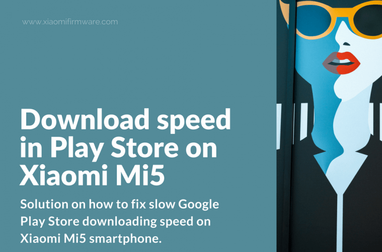 google play store slow download speed fix