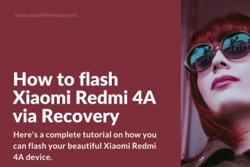 Newbie flash tutorial for Redmi 4A