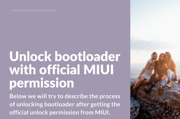Unlock Xiaomi device with MIUI permission