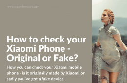 Check Xiaomi Phone Product Authenticity