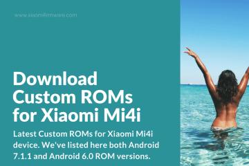 Xiaomi Mi4i Best Custom ROM