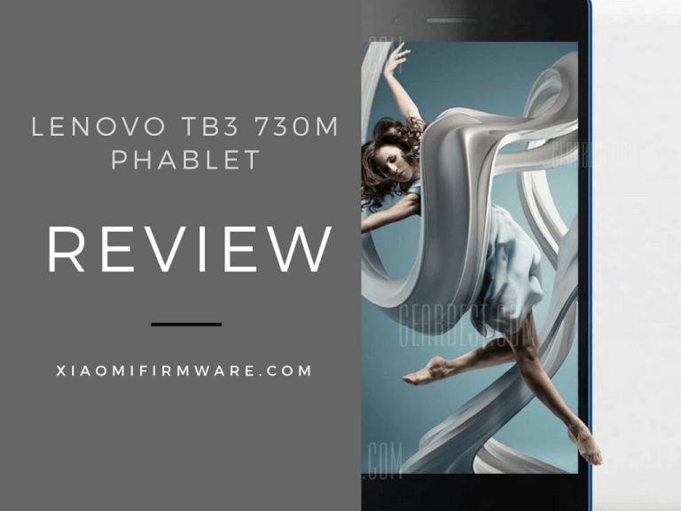 Lenovo TB3 730M Review