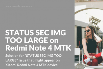 How to fix STATUS SEC IMG TOO LARGE issue