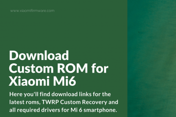Download Official and Custom ROMs for Mi Note 3 - Xiaomi Firmware